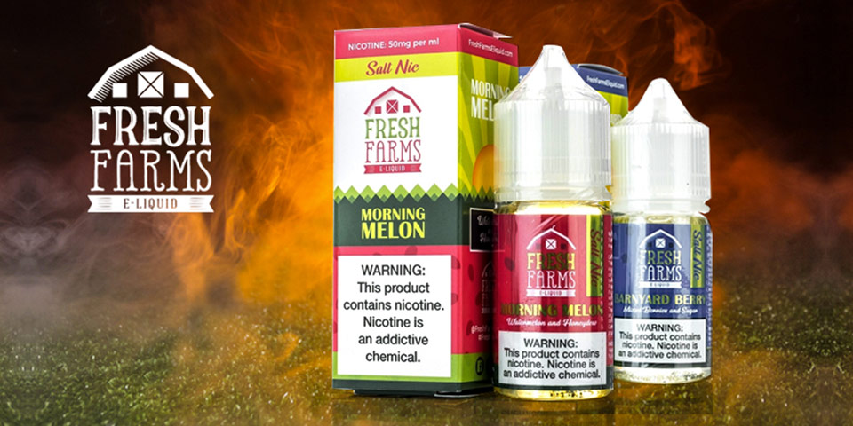 Cigarette oil brand fresh farms submitted to PMTA: dozens of products applied
